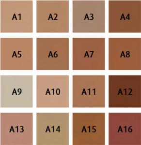 DermaColor Light kleuren