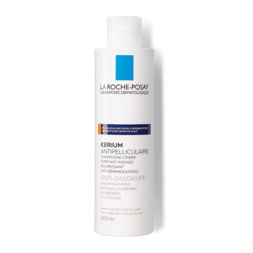La Roche Posay Kerium Crème-shampoo anti droge schilfers