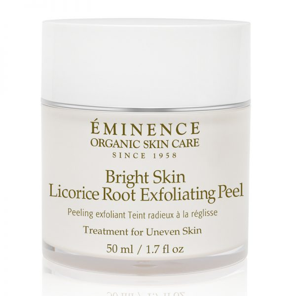 Eminence Organic Skin Care Bright Skin Licorice Root Exfoliating Peel