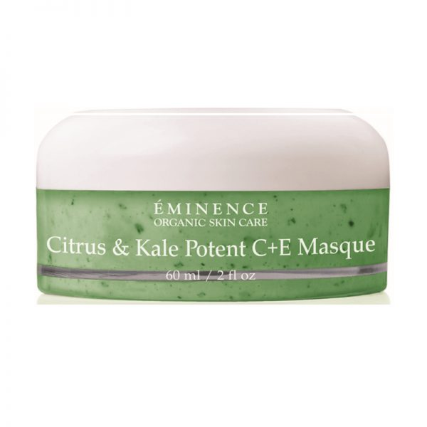 Eminence Organic Skin Care Citrus & Kale Potent C + E Masque