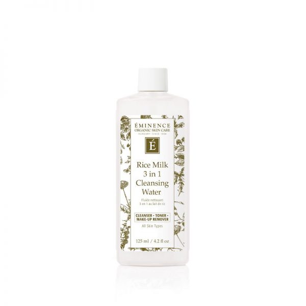 Eminence Organic Skin Care Rice Milk 3 in 1 Cleansing Water